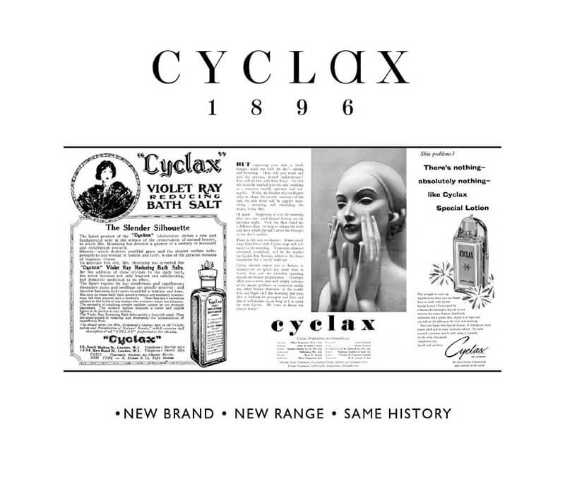 Cyclax and Cosmetic History